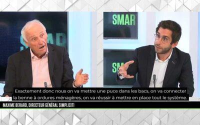 Interview de Maxime Bérard, DG de Simpliciti, par Jean-Marc Sylvestre sur B Smart TV